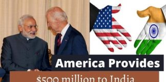 america provides assistance to india