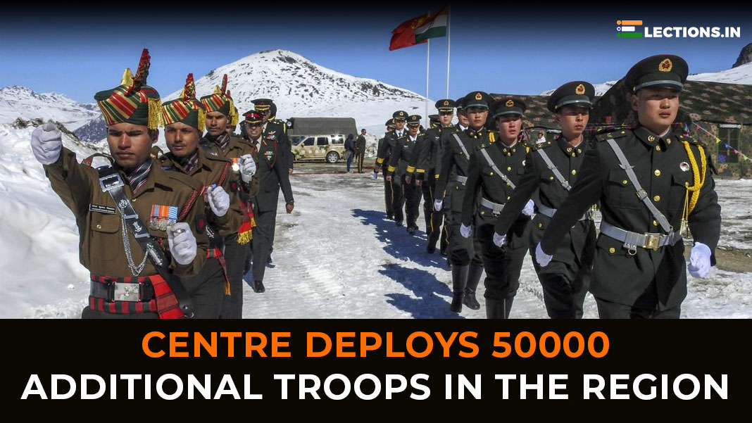 additional troops, india troop deployment