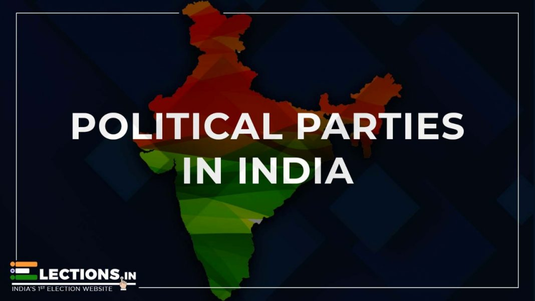 Political Parties, Political Parties in India