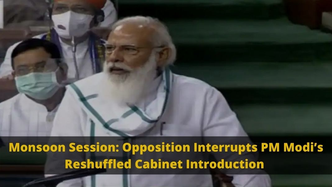 Monsoon Session, Pegasus Spyware Controversy